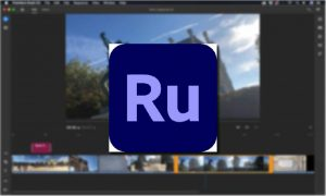 Adobe Premiere Rush supported devices, Adobe Premiere Rush logo, Adobe Premiere Rush editing app