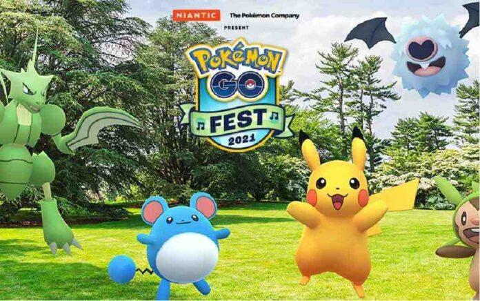 Pokemon go fest 2021, pokemon go fest 2021 date, pokemon go fest 2021