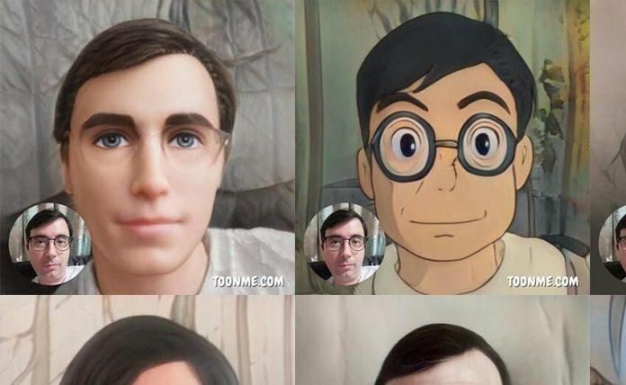 Toon Me App, How to make Cartoon face, How to make Whatsapp stickers