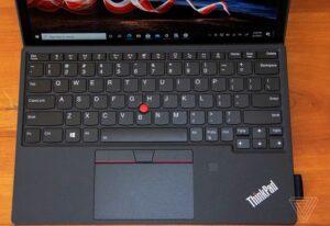 Lenovo thinkpad x12 design