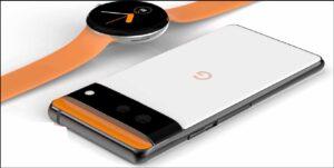 google pixel 6 with pixel watch