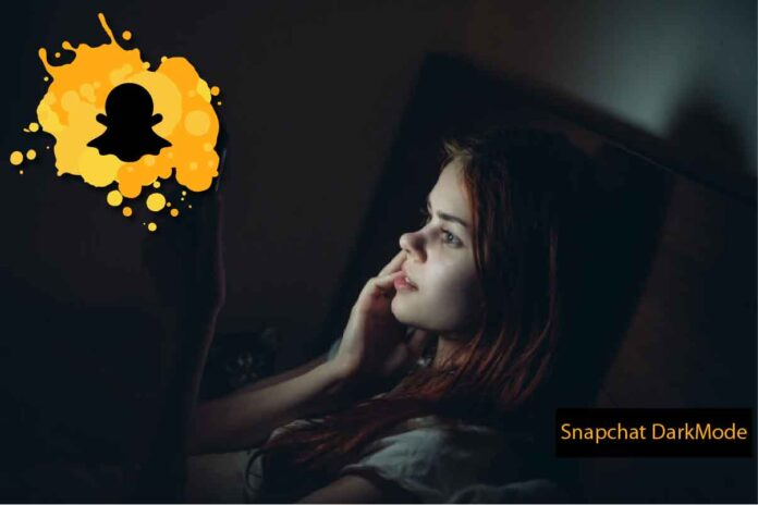 How to get dark mode on Snapchat for iOS, Snapchat dark mode, Snapchat for Android