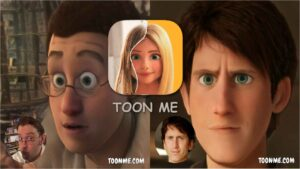 How to turn yourself into cartoon, ToonMe app, cartoon face android app
