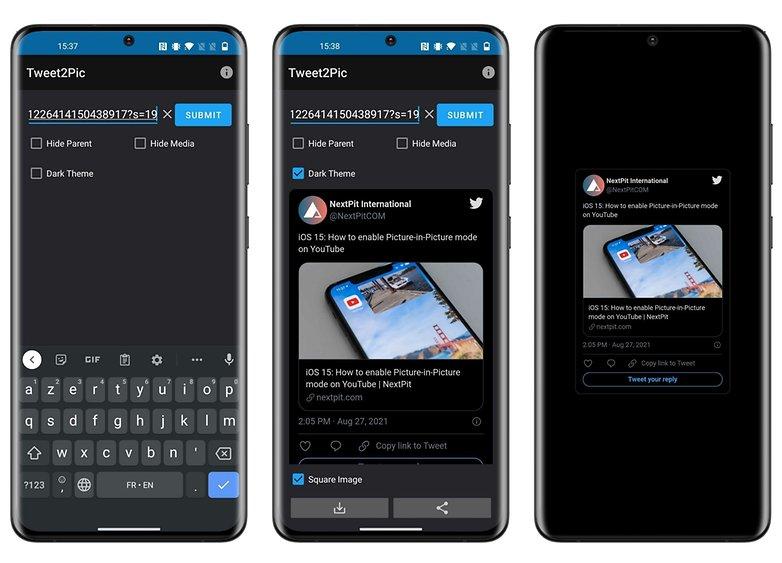 5 apps week 34 2021 tweet2pic