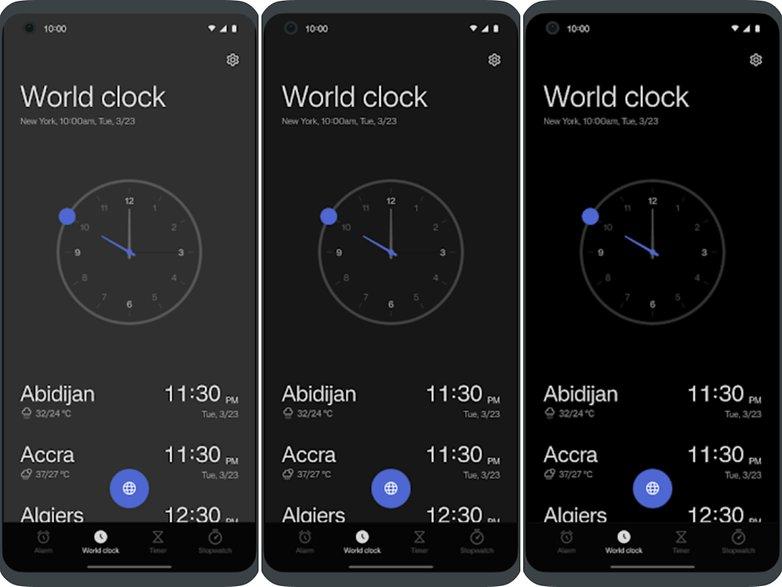oneplus oxygenos 12 clock